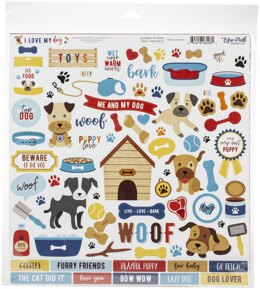 "Echo Park Paper Echo Park Collection Kit 12""X12"" - I Love My Dog"