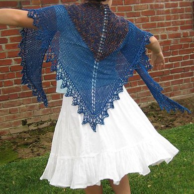 Treasure Island Shawl