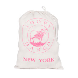 Loopy Mango Small Drawstring Bag