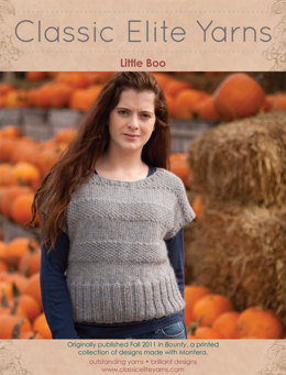 Little Boo Pullover in Classic Elite Yarns Montera - Downloadable PDF