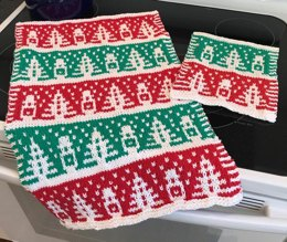Slip Stitch Holiday Kitchen