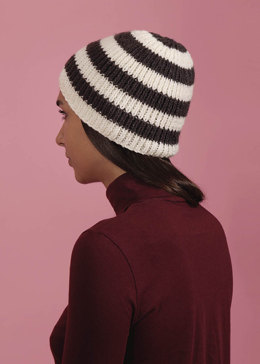 Winter Frost Beanie in Paintbox Yarns Simply Aran - Downloadable PDF