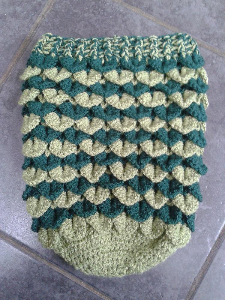 Crocodile Stitch Newborn Baby Cocoon Crochet Pattern By Laura Tegg