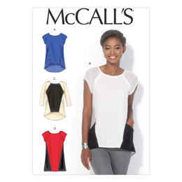 McCall's Misses' Tops and Tunic M7093 - Sewing Pattern