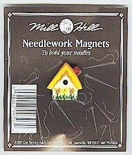 Wichelt Sunflower Birdhouse Needle Magnet