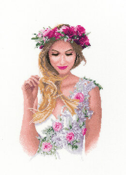 Heritage Emily Cross Stitch Kit - 16.5cm x 27.5cm