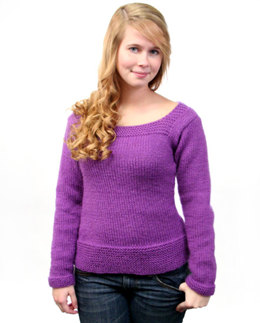Sarah Sweater in Caledon Hills Chunky Wool