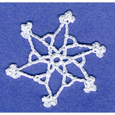 0271 Miniature Snowflake Set