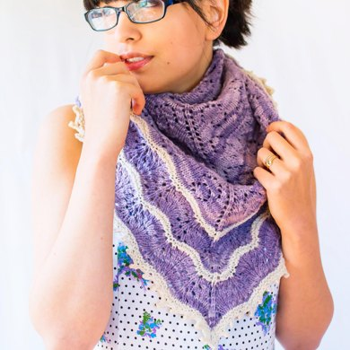 Fields of Lavender (Shawl)
