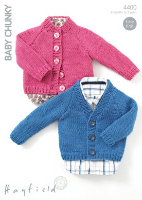 Cardigans in Hayfield Baby Chunky - 4400