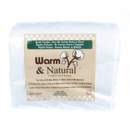 Warm and Natural Cotton Wadding: 120in x 124in (King)