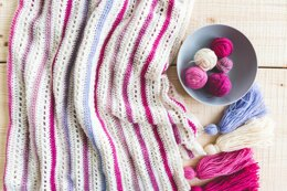 Cake Stripe Blanket