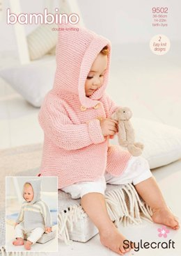 Coats in Stylecraft Bambino DK - 9502 - Downloadable PDF
