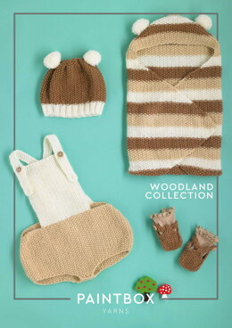 Woodland Collection - Free Layette Knitting Pattern For Babies in Paintbox Yarns Baby DK by Paintbox Yarns