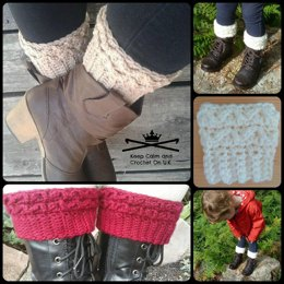 Loopy Ridges Boot Cuffs