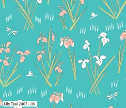 Visage Textiles Lily Pad Cut to Length - Lily Teal