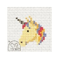Mouseloft Quicklets - Unicorn Cross Stitch Kit