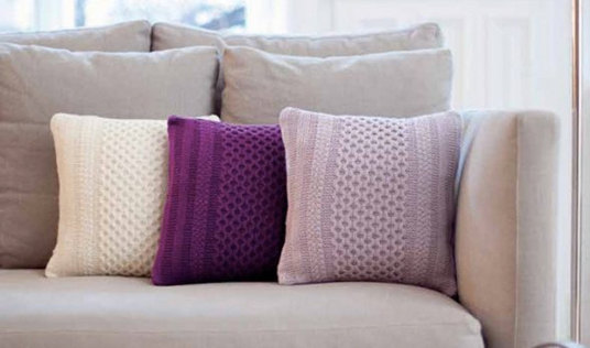 Amazing knitting patterns for your home