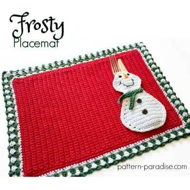 Frosty Placemat