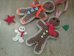 Festive Gingerbread Man