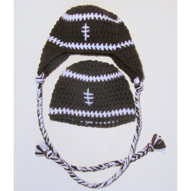 Football Hat - Newborn to Adult