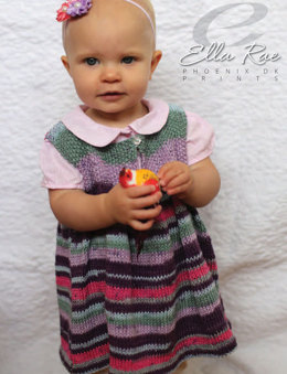 Bunty Dress in Ella Rae Phoenix DK Prints - ER21-02 - Downloadable PDF