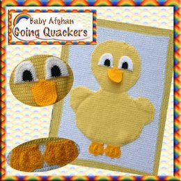 Animal Baby Blanket - Going Quackers