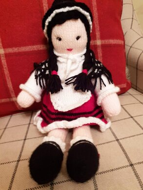 Angharad- A Little Welsh Doll