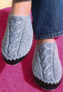 Slippers in Regia Silk 4 Ply - 5549 - Downloadable PDF