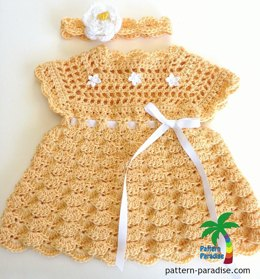 Shelly Dress & Headband PDF12-109