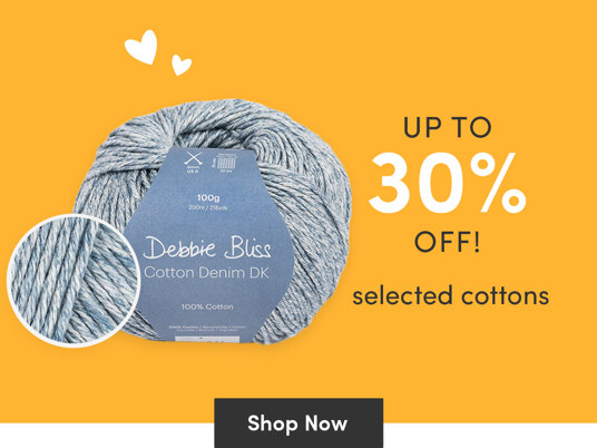 Up to 30 percent off selected cottons!