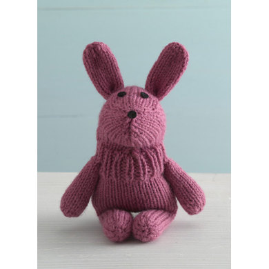 Bouncy Bunny Sock Critter in Lion Brand Wool-Ease - 90569AD