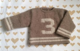 Sports sweater for baby