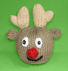 Rudolph the Red Nosed Reindeer Christmas Head