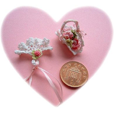 1:12th scale bridal basket