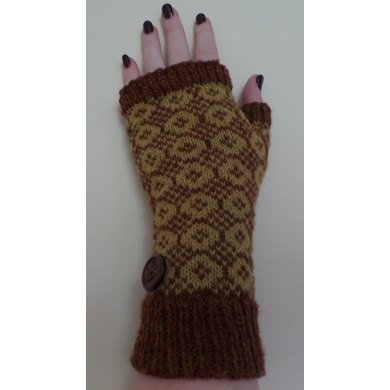 Buttons Mitts