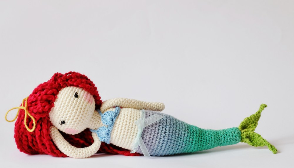 Free Crochet Amigurumi Mermaid Pattern : Crochet mermaid doll crochet pattern by kornflakestew crochet