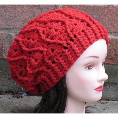 Maddie Cabled Slouch Hat