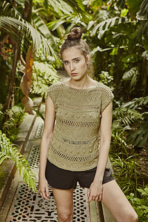 Supay Tee Top in We Are Knitters The Cotton Wool - Downloadable PDF