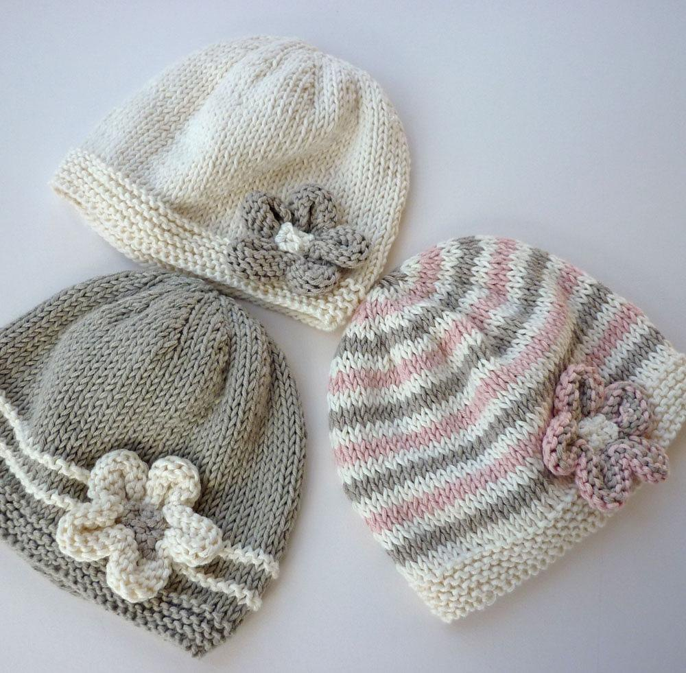 Emilie Baby Hat Knitting pattern by Julie Taylor | Knitting Patterns ...