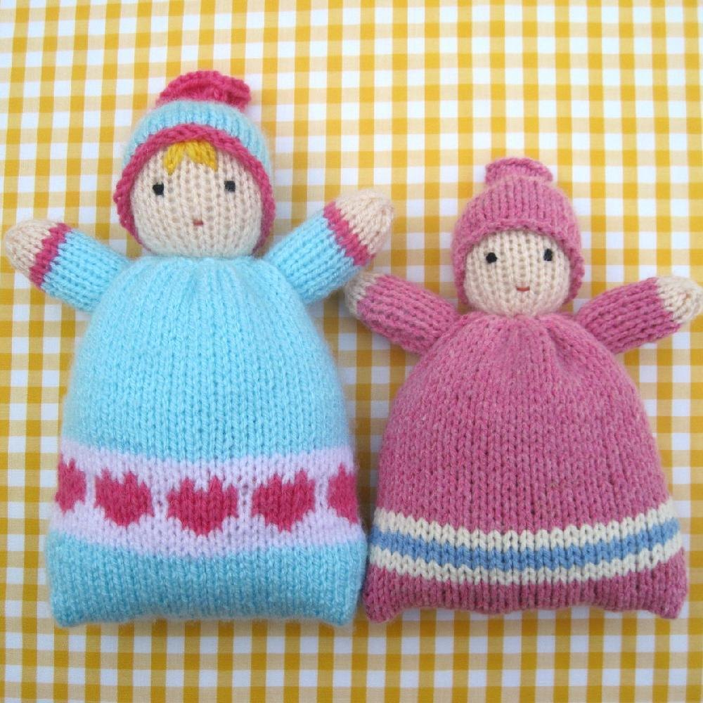 Little Sweethearts - knitted doll Knitting pattern by Toyshelf ...