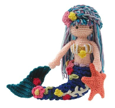 Arianna Mermaid Doll Crochet Pattern By Carolyn Christmas Crochet