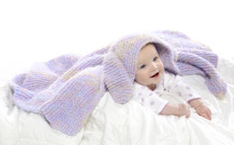 Snuggle Bunny Blanket in Premier Yarns Gelato - Downloadable PDF
