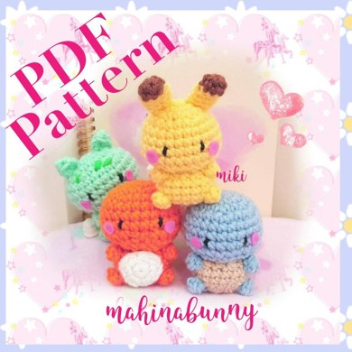 Crochet Pattern: Charmander Amigurumi PDF File | Crochet patterns ... | 390x390