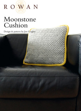 Moonstone Cushion in Rowan Pure Wool Worsted