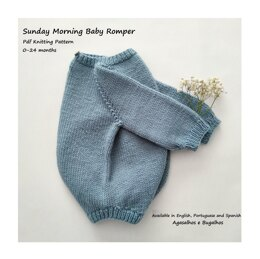 Sunday Morning Baby Romper