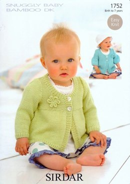 Coats in Sirdar Snuggly Baby Bamboo DK - 1752
