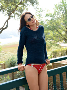 Scoop Neck Sweater in Bergere de France Sonora - 17 - Downloadable PDF