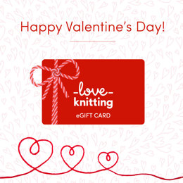LoveKnitting eGift Card - Valentine's Day