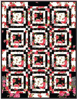 Michael Miller Fabrics Charming Fat Quarter Quilt - Downloadable PDF
